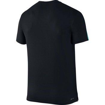 koszulka tenisowa męska NIKE COURT GRAPHIC CREW / 729262-011