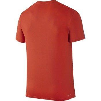 koszulka tenisowa męska NIKE COURT GRAPHIC CREW / 729262-671