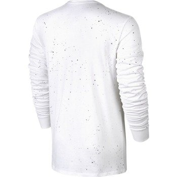 koszulka tenisowa męska NIKE COURT WIMBLEDON LONG SLEEVE TEE / 777875-100