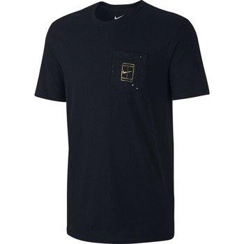 koszulka tenisowa męska NIKE COURT WIMBLEDON POCKET TEE / 777877-010