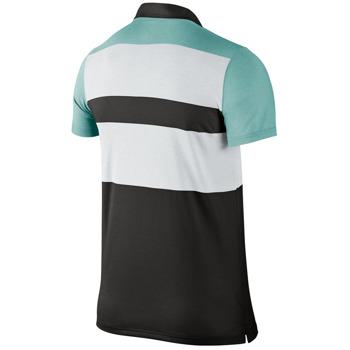 koszulka tenisowa męska NIKE DRI-FIT TOUCH STRIPE POLO / 596566-010