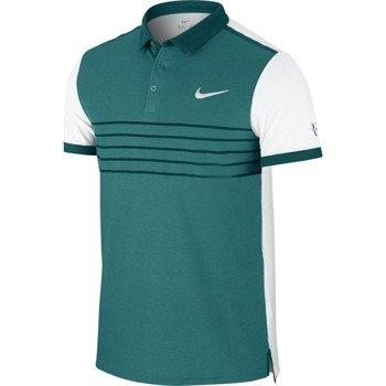 koszulka tenisowa męska NIKE PREMIER RF PRINTED Roger Federer US Open 2015/ 709504-309