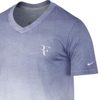 koszulka tenisowa męska NIKE RF V-NECK TEE Roger Federer / 596197-103