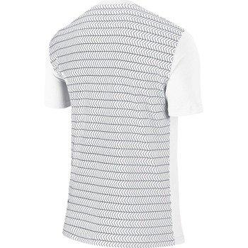 koszulka tenisowa męska NIKE ROGER SHORTSLEEVE V-NECK TEE / 688576-101