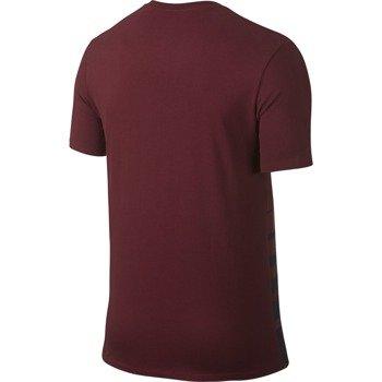 koszulka tenisowa męska NIKE ROGER SHORTSLEEVE V-NECK TEE / 777865-677