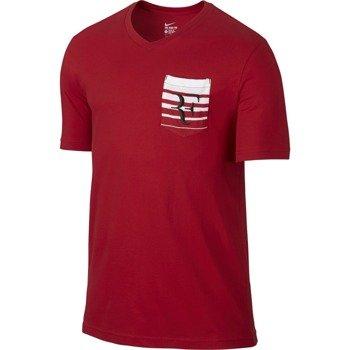 koszulka tenisowa męska NIKE ROGER TEE / 739477-657
