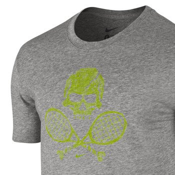 koszulka tenisowa męska NIKE SKULL & RACQUETS TEE 2 / 639425-063