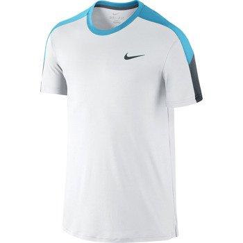 koszulka tenisowa męska NIKE TEAM COURT CREW / 644784-101