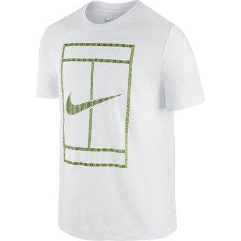 koszulka tenisowa męska NIKE WIMBLEDON COURT TEE / 658300-100
