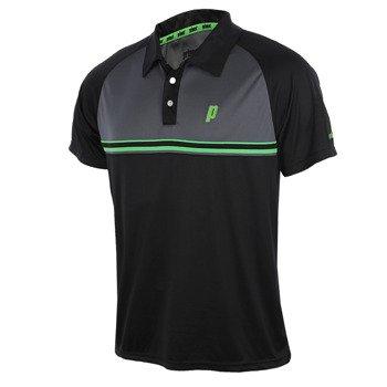 koszulka tenisowa męska PRINCE STRIPE POLO / 3M102-096