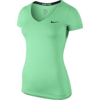 koszulka termoaktywna damska NIKE PRO SHORTSLEEVE V-NECK / 589370-387