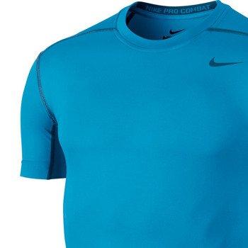 koszulka termoaktywna męska NIKE PRO COMBAT CORE COMPRESSION SHORTSLEEVE TOP / 449792-415