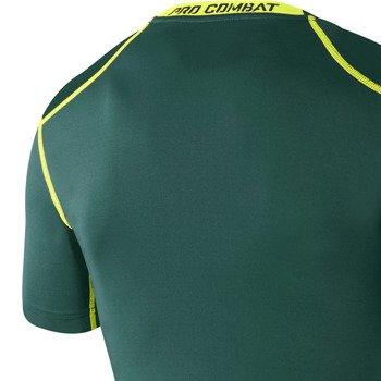 koszulka termoaktywna męska NIKE PRO COMBAT CORE COMPRESSION SHORTSLEEVE TOP / 449792-500