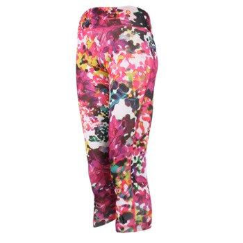 legginsy damskie ADIDAS ULTIMATE FIT 3/4 TIGHT FLOWER / AJ5031