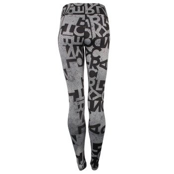 legginsy damskie ADIDAS WORKOUT LONG TIGHT TYPO / AJ5049