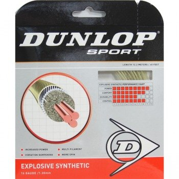 naciąg tenisowy DUNLOP EXPLOSIVE SYNTHETIC 12M