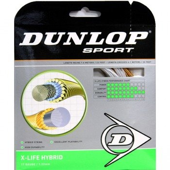 naciąg tenisowy DUNLOP X-LIFE HYBRIDE 12M