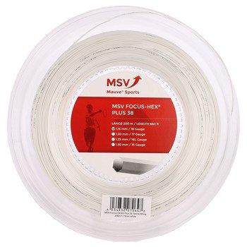 naciąg tenisowy MSV FOCUS HEX PLUS38 200M WHITE