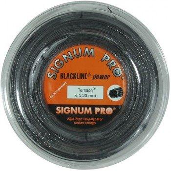naciąg tenisowy SIGNUM PRO TORNADO BLACKLINE power 200m.