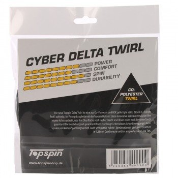 naciąg tenisowy TOPSPIN CYBER DELTA TWIRL 1,25 mm / 12m