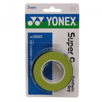 owijka tenisowa YONEX X3 SUPER GRAP GREEN / AC102EX