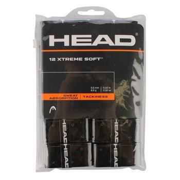 owijki tenisowe HEAD XTREME SOFT X12 BLACK / 285405