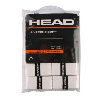owijki tenisowe HEAD XTREME SOFT X12 WHITE / 285405