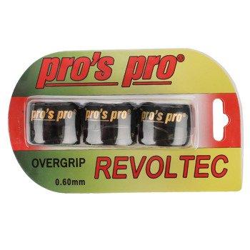 owijki tenisowe PRO'S PRO REVOLTEC GRIP OVERGRIP x3 0,60MM / TOPP-092
