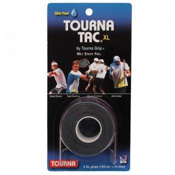 owijki tenisowe TOURNA TAC X3 XL BLACK