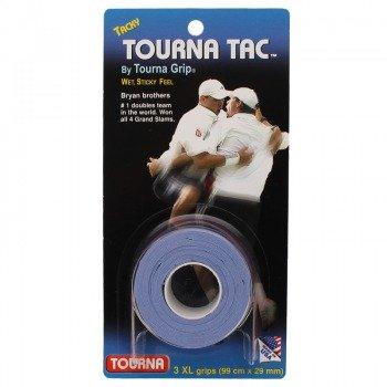 owijki tenisowe TOURNA TAC X3 XL BLUE