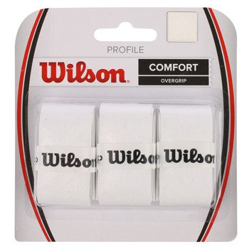 owijki tenisowe WILSON PROFILE OVERGRIP COMFORT x3 / WRZ4025