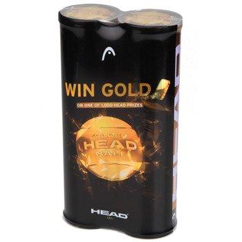 piłki tenisowe HEAD ATP GOLD 2X 4SZT 2016 / 570321, 570411