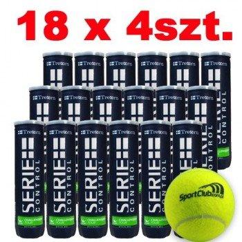 piłki tenisowe TRETORN   SERIE+ CONTROL SPORTCLUB 4szt. x 18 /karton/