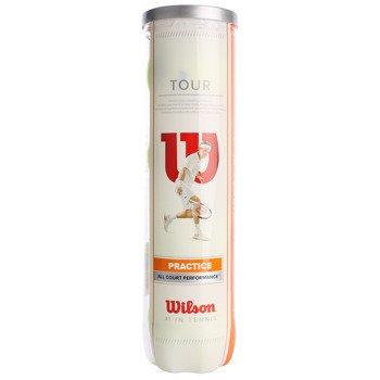 piłki tenisowe WILSON TOUR PRACTICE - 4szt. / WRT114500