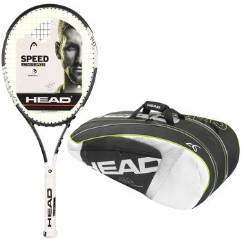 rakieta tenisowa HEAD GRAPHENE XT SPEED LITE + torba tenisowa HEAD NOVAK DJOKOVIC SUPERCOMBI