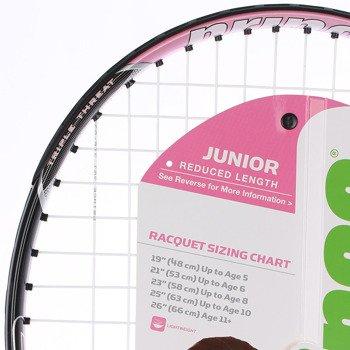 rakieta tenisowa juniorska PRINCE PINK 25 / 7T29A3050