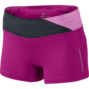 spodenki do biegania damskie NIKE EPIC RUN BOY SHORT / 551652-513