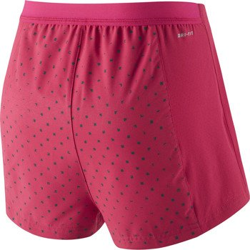 spodenki tenisowe damskie NIKE PRINTED WOVEN SHORT / 620848-691