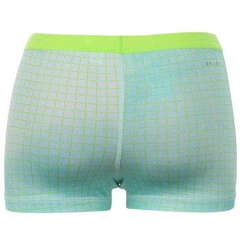 spodenki tenisowe damskie NIKE SLAM PRINTED SHORT / 646200-366