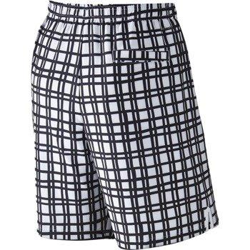 """spodenki tenisowe męskie NIKE COURT 9"""" PLAID SHORT / 729267-100"""