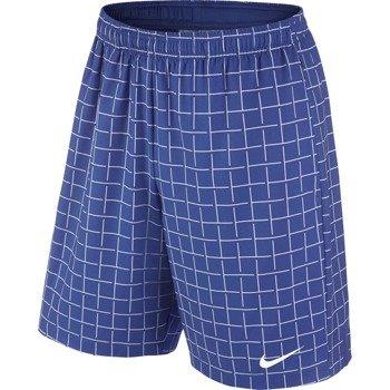 """spodenki tenisowe męskie NIKE COURT PLAID 9"""" SHORT / 645041-480"""