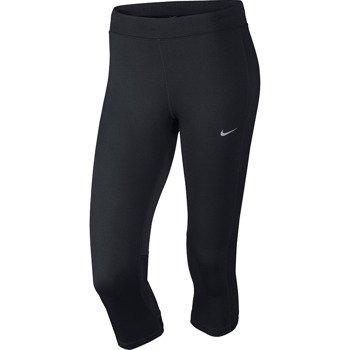 spodnie do biegania damskie 3/4 NIKE DRI-FIT ESSENTIAL CAPRI / 645603-010