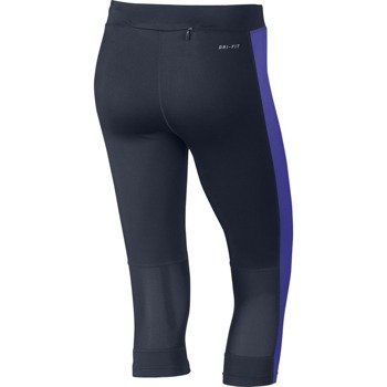 spodnie do biegania damskie 3/4 NIKE DRI-FIT ESSENTIAL CAPRI / 645603-451