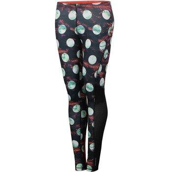 spodnie do biegania damskie REEBOK RUNNING ESSENTIALS LONG TIGHT PRINT / A99251