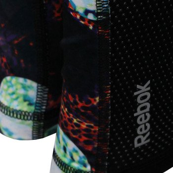 spodnie do biegania damskie REEBOK RUNNING ESSENTIALS LONG TIGHT PRINT / A99251