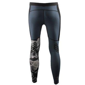 spodnie do biegania męskie REEBOK SPARTAN TIGHT / AX9581