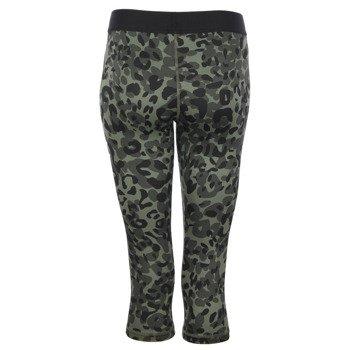 spodnie sportowe damskie 3/4 ADIDAS INFINITE SERIES TECHFIT CAPRI PRINTED / S16469