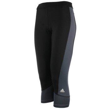 spodnie sportowe damskie 3/4 ADIDAS TECHFIT CAPRI / AY4316