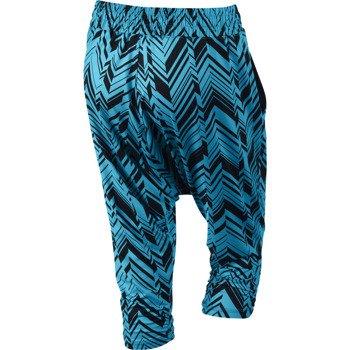 spodnie sportowe damskie 3/4 NIKE AVANT FREEZE FRAME CAPRI / 643316-407