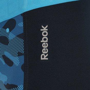 spodnie sportowe damskie 3/4 REEBOK WORKOUT READY PRINTED CAPRI / AA9751